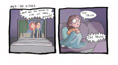 Katie Alexander | Lately I've been watching a lot of The X-Files.... Holy shit if this isn't me