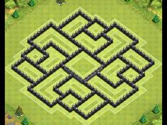 Clash of Clans - Epic TH9 Farming Base (4 mortars) - YouTube