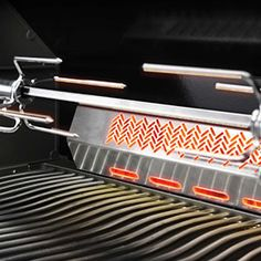 Prestige 500 with Infrared Side and Rear Burners in Stainless Steel | P500RSIBBPSS-1