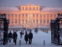Weihnachtsmarkt am Schloss Schönbrunn