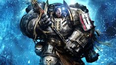 this is a grey knight from Warhammer 40k they are second only to the emperor's personal guard