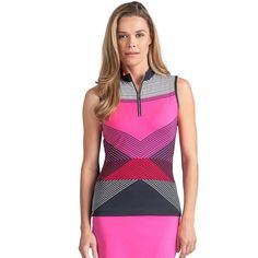 Women's Tail Sol Knit Golf Tank, Size: Small, Pink Other
