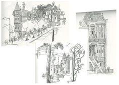 SF sketches by Matt Cruickshank