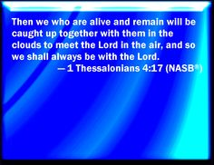 1 Thessalonians 4:17