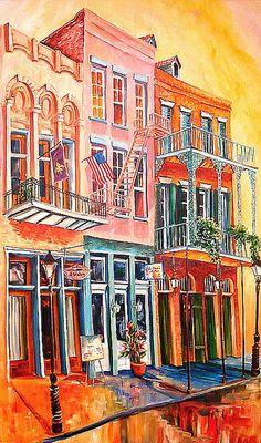 French Quarter Street by Diane-E, via Flickr