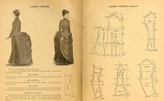 National Garment Cutter book of diagrams, 1888