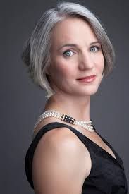 Image result for silver hair mature model