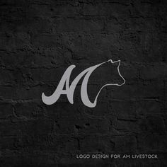 AM Livestock | #Logo #Design by Morgan Leigh Meisenheimer www.facebook.com/MLMeisenheimer