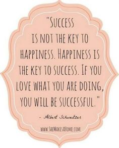 Twitter / actionhappiness: Success is not the key to ...
