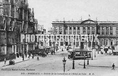 Entrée Cathédrale Saint André - Hotel de Ville - Bordeaux