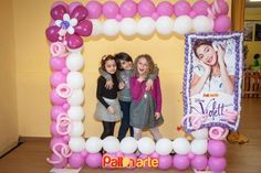 palloncini violetta - Buscar con Google Balloon Frame, Balloon Columns, Balloon Arch, Ballon Decorations, Birthday Decorations, Balloon Pictures, Photo Balloons, Balloon Crafts, Little Pony Party