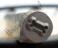 DOG BONE 6x6mm Metal STAMP Design Punch for Blanks Jewelry Personalized PET TAGS