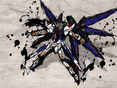 Gundam Seed, Mobile Suit, Bicycle, Destiny, Anime, Bike, Bicycle Kick, Bicycles, Cartoon Movies