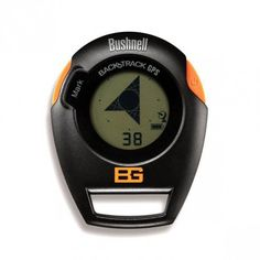 Bushnell Bear Grylls Edition BackTrack Original GPS Personal Locator and Digital Compass, Orange/Black Survival Prepping, Survival Gear, Survival Skills, Survival Quotes, Shooting Equipment, Camping Equipment, Survival Equipment, Hiking Gear, Camping Gear