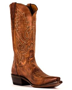 Lucchese Men's Peanut Brittle Madras Gill Stitch S5 Toe Boot