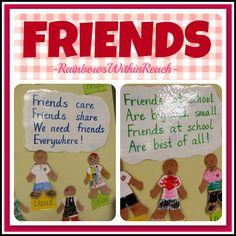 Friends Poem Bulletin Board via RainbowsWithinReach