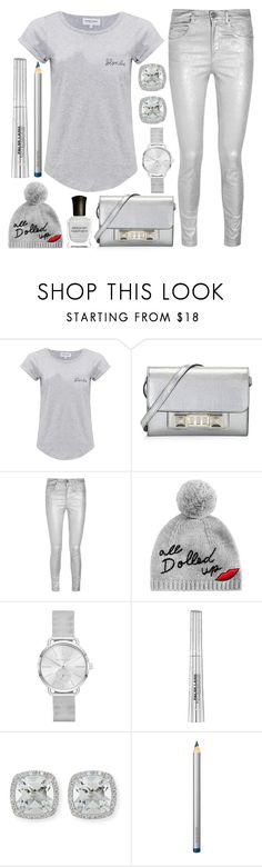 """""""gray day in new york"""" by j-n-a ❤ liked on Polyvore featuring Maison Labiche, Proenza Schouler, Étoile Isabel Marant, Kate Spade, Michael Kors, Frederic Sage, Laura Mercier and Deborah Lippmann"""