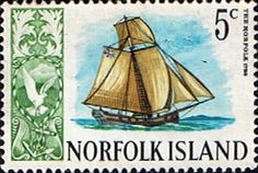 Norfolk Island 1967 Ships SG 81 Fine Mint Scott 104 Other European and British Commonwealth Stamps HERE!