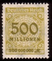 The story of Germany's period of hyperinflation reflected in the stamp issues of the day. Rare Stamps, Vintage Stamps, German Stamps, Popular Hobbies, Stamp Collecting, Period, Poster, Germany, Typography