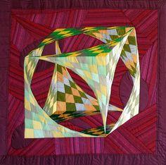 3D quilt illusion