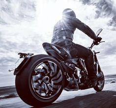 This Ducati Diavel reminds me Leo from Collision by K.A. Sterritt