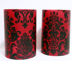 Hey, I found this really awesome Etsy listing at http://www.etsy.com/listing/116594114/damask-wedding-black-and-red-damask