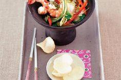 Gurken-Salat mit Garnelen Rezept - FIT FOR FUN