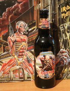 Trooper, Robinsons brewery UK. Iron Maiden beer. 4.7%