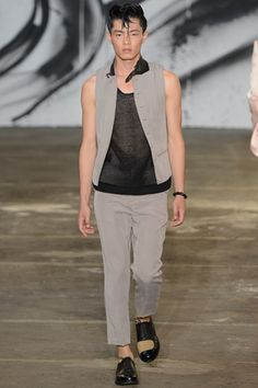 Miharayasuhiro Spring 2013 Menswear Collection Slideshow on Style.com