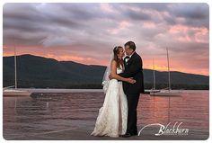 Lake George Club Wedding Photo Image by Susan Blackburn Copyright Blackburn Portrait Design susanblackburn.biz #lakegeorgephotographer #weddingphotos #rainydayweddingphotos After the torrential rains, we got an amazing sky to photograph against.