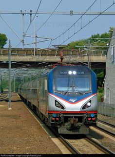RailPictures.Net Photo: AMTK 609 Amtrak Siemens ACS-64 at Old Saybrook, Connecticut by Patrick Lynch