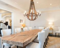 Beautiful White Dining Chairs For 12 Person Dining Table Ideas  At Transitional Dining Room Large Area Rug Cool Table Lamp 550×440  Pixels