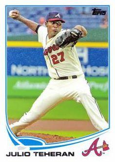 Motivated Julio Teheran Atlanta Braves Star Authentic Signed Autographed Official Baseball Balls