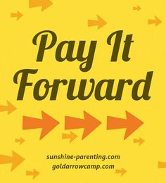 """""""Pay it Forward"""" Day is April 24"""