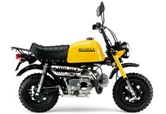 Eine Honda Gorilla aus Anfang der 80er Jahre. Gab`s bei uns als Mokick mit 50 ccm. Eine Besonderheit war die Schaltung ohne Kupplung. KEINE Schaltwippe.