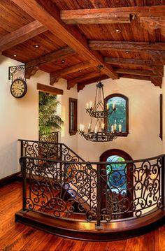 Rustic Mediterranean - mediterranean - entry - los angeles - Pritzkat & Johnson Architects