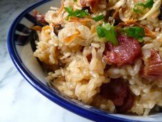 Chinese sausage and sticky rice stuffing - - Making a place for Chinese cuisine at Thanksgiving with this toothsome and savory rice stuffing. Chinese Thanksgiving, Thanksgiving Recipes, Thanksgiving Stuffing, Thanksgiving Traditions, Thanksgiving Feast, Rice Stuffing, Stuffing Recipes, Sausage Stuffing, Chinese Sticky Rice