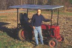 solar tractor!