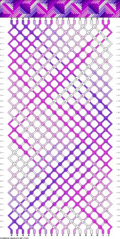 18 strings, 36 rows, 9 colors || creo que estaría interesante hacerlo con cuerda.