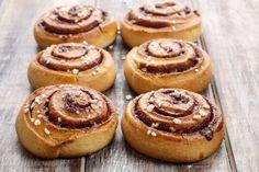 Petits pains suédois à la cannelle - Kanelbullar