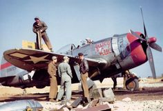 Republic P-47D-26-RA Thunderbolt, 50th fighter group.