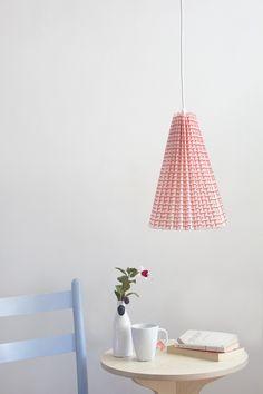 DIY No-Sew Fabric Lampshade — The Apple of My DIY