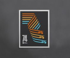 Cycling Poster by Caleb Kozlowski