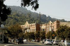 Downtown Los Gatos, CA. Home of my relatives.