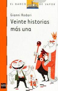 Historias de reyes, soldados, princesas y otros protagonistas típicos de los cuentos infantiles es lo que nos encontramos en este libro de Gianni Rodari publicado por SM en su serie naranja (a partir de 9 años). #GianniRodari