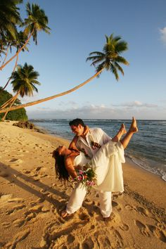 #Romantic Wedding Celebrations on an Exotic #Fiji Island Beach