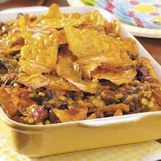 Spicy Nacho Bake Recipe from Taste of Home -- shared by Anita Wilson of Mansfield, Ohio