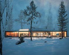 Clear Lake Cottage, Angel Kostov on ArtStation at http://index.artstation.com/artwork/EWVx0