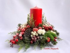 VK is the largest European social network with more than 100 million active users. Christmas Flower Arrangements, Christmas Table Centerpieces, Indoor Christmas Decorations, Christmas Flowers, Christmas Candles, Christmas World, Christmas Home, Christmas Crafts, Christmas Ornaments