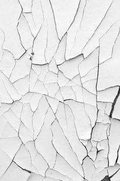 white cracks / texture / minimal: